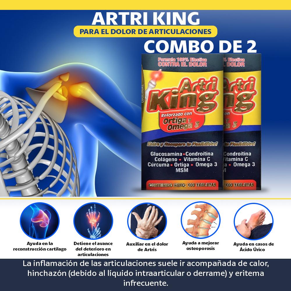 2 Artri King Reforzado Con Omega