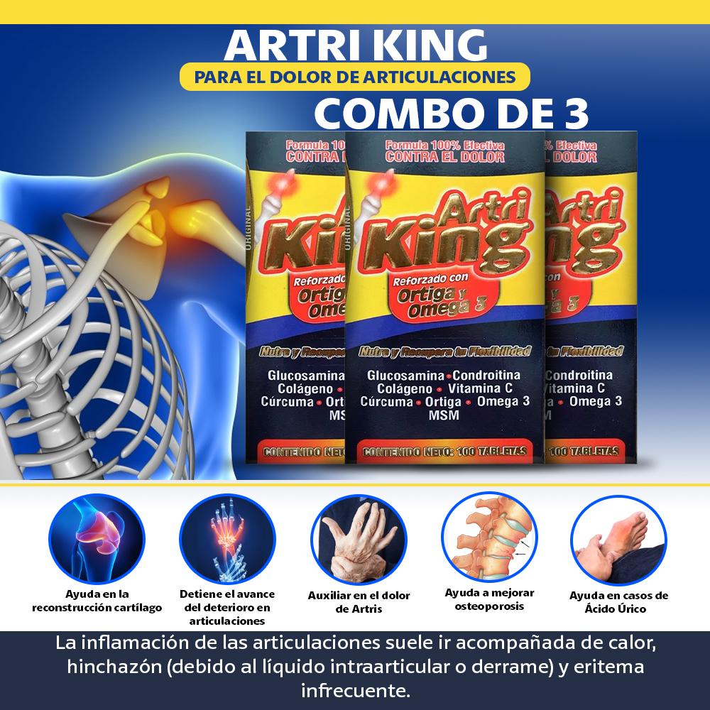 3 Artri King Reforzado Con Omega
