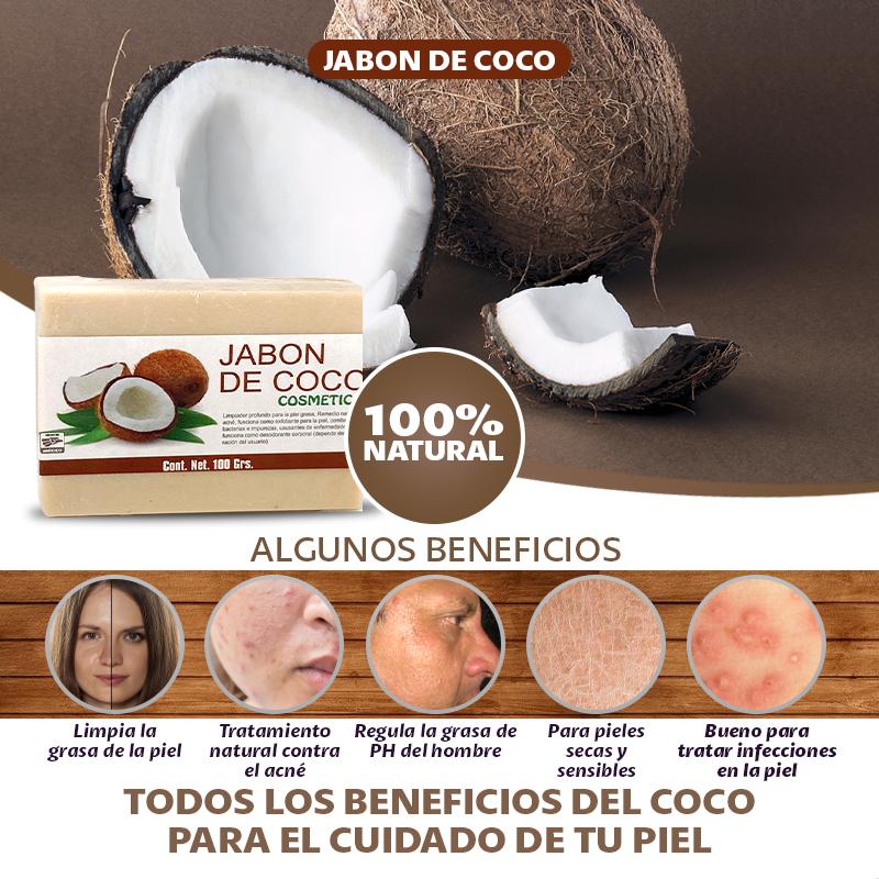 3 Jabones De Coco Para Tu Piel Y Cabello
