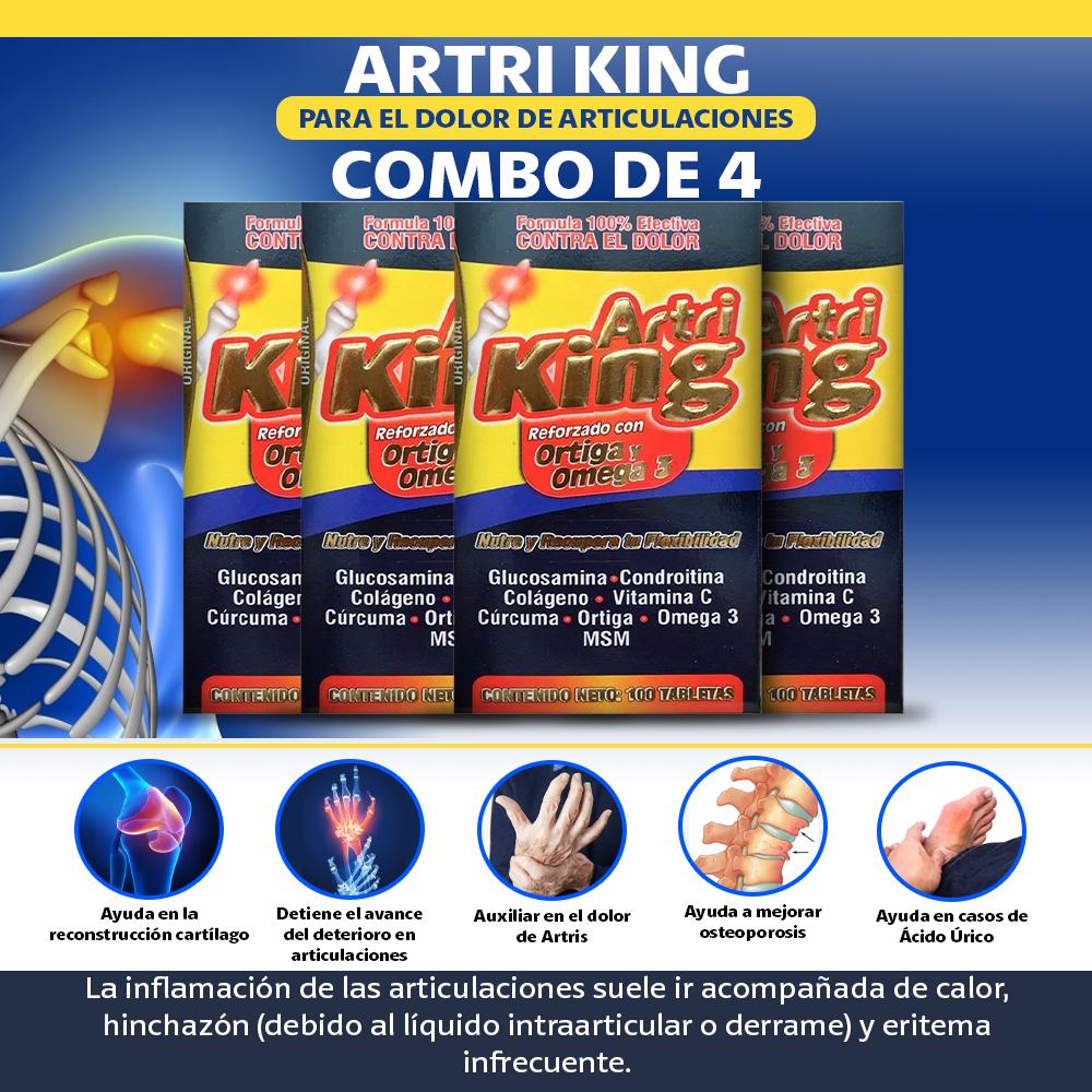 4 Artri King Reforzado Con Omega