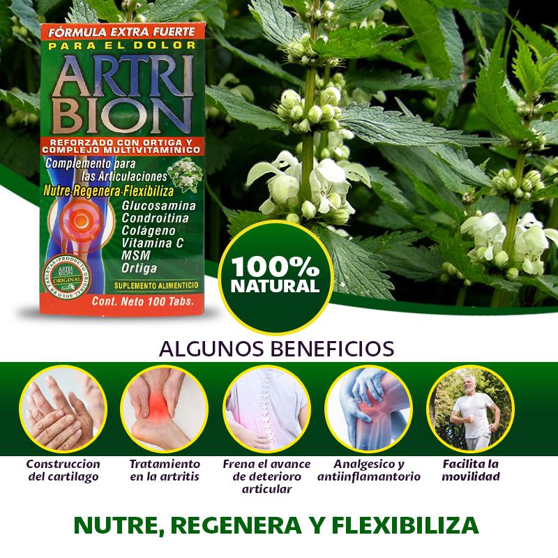 Artri Bion Reforzado Con Ortiga Y Complejo Multivitaminico
