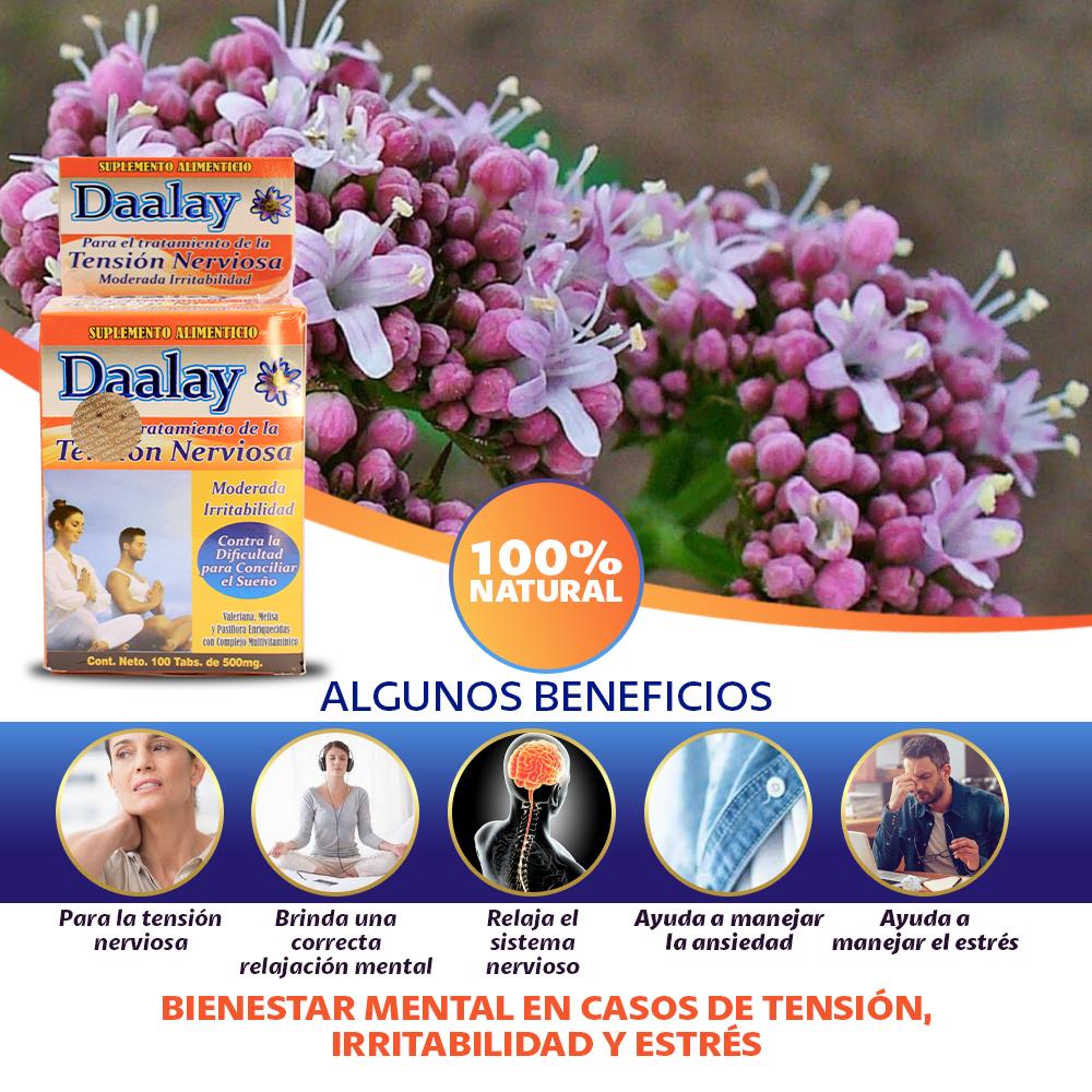 Daalay Tratamiento De Tensión Nerviosa