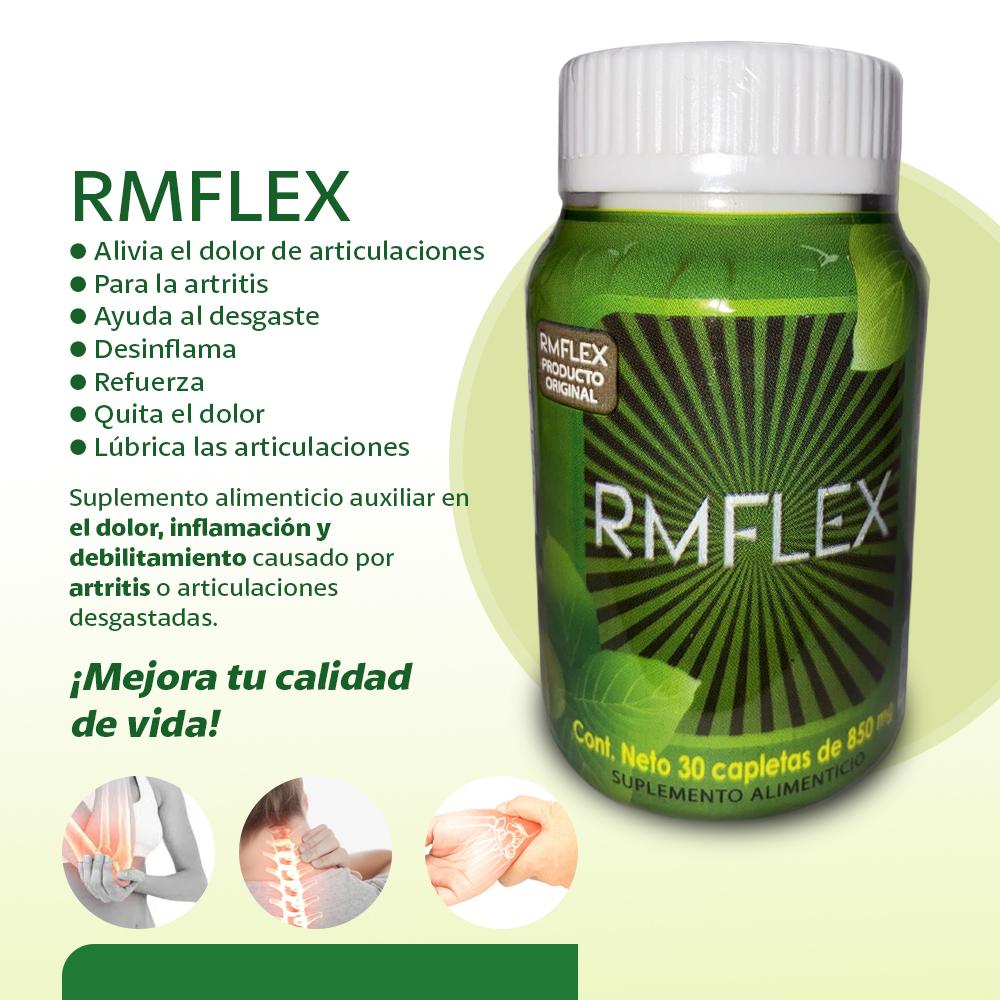 RMFLEX – Alivia El Dolor De Articulaciones