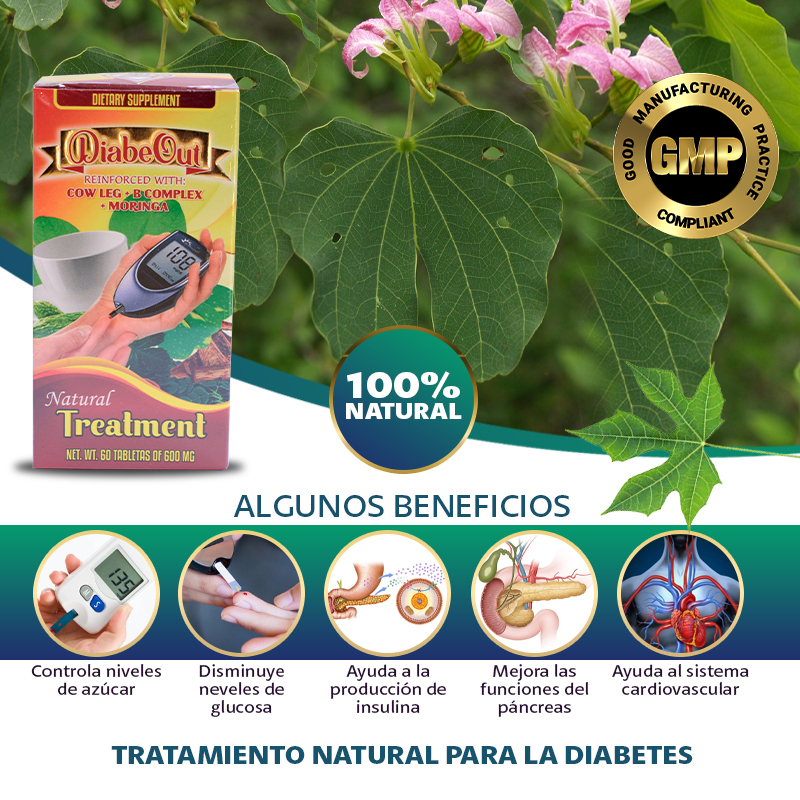 Suplemento Natural DiabeOut