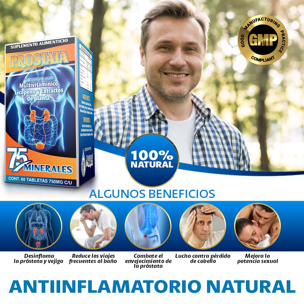 Suplemento Natural Para La Prostata