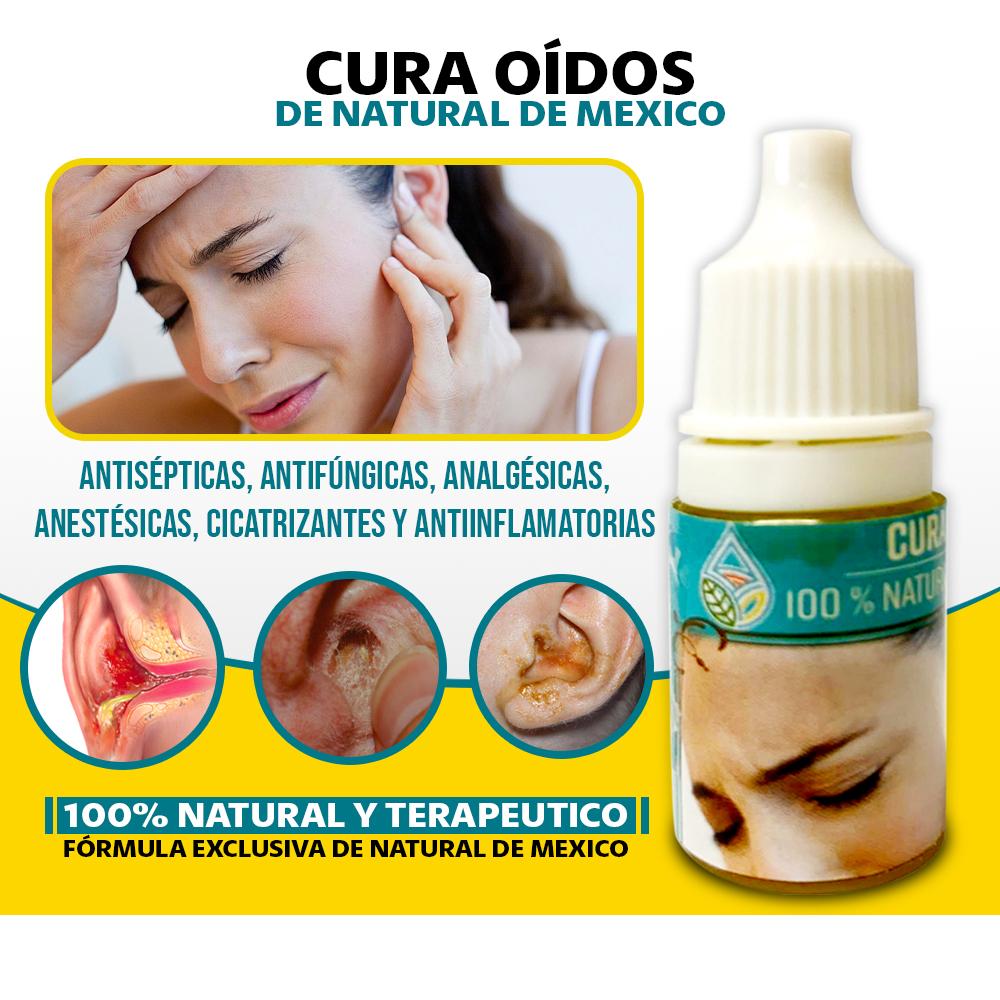 Cura Oídos Naturales Y Terapéutico