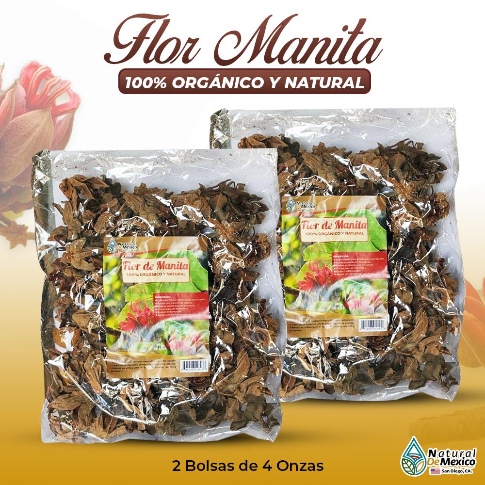 Flor De Manita – 2 Paquetes De 4 Onzas