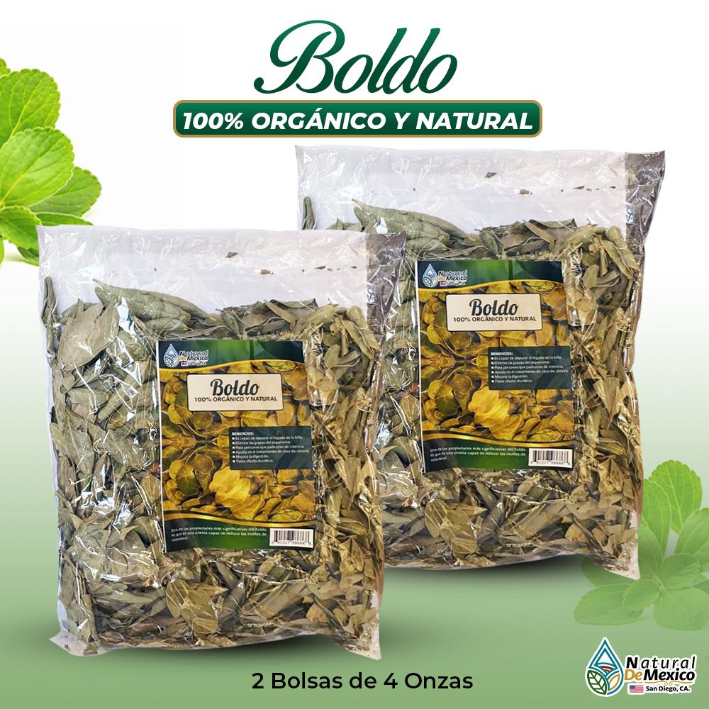 Boldo – 2 Paquetes De 4 Onzas