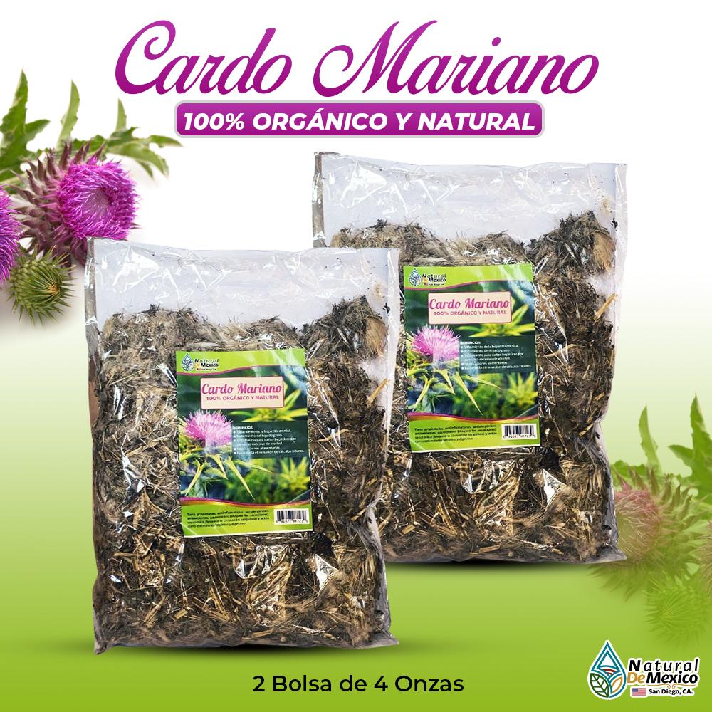 Cardo Mariano – 2 Paquetes De 4 Onzas