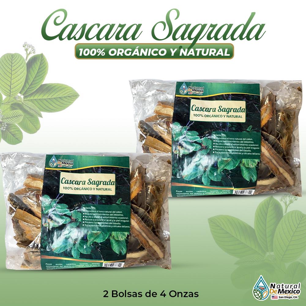 Cascara Sagrada – 2 Paquetes De 4 Onzas