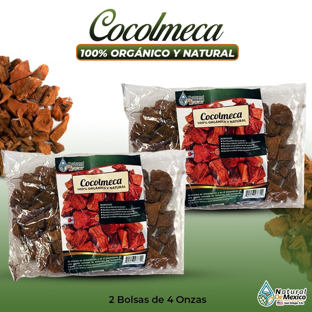 Cocolmeca – 2 Paquetes De 4 Onzas