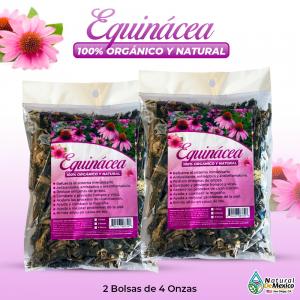 Equinácea – 2 Paquetes de 4 Onzas