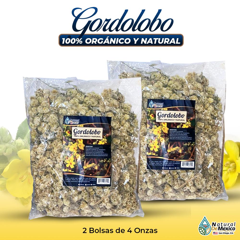 Gordolobo – 2 Paquetes De 4 Onzas