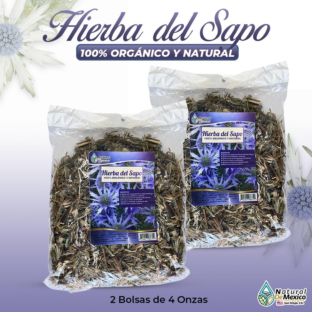 Hierba Del Sapo – 2 Paquetes De 4 Onzas