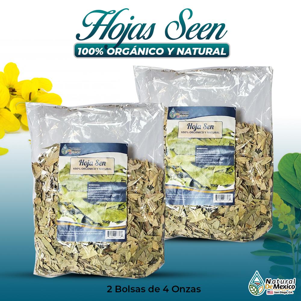 Hojas Sen – 2 Paquetes De 4 Onzas