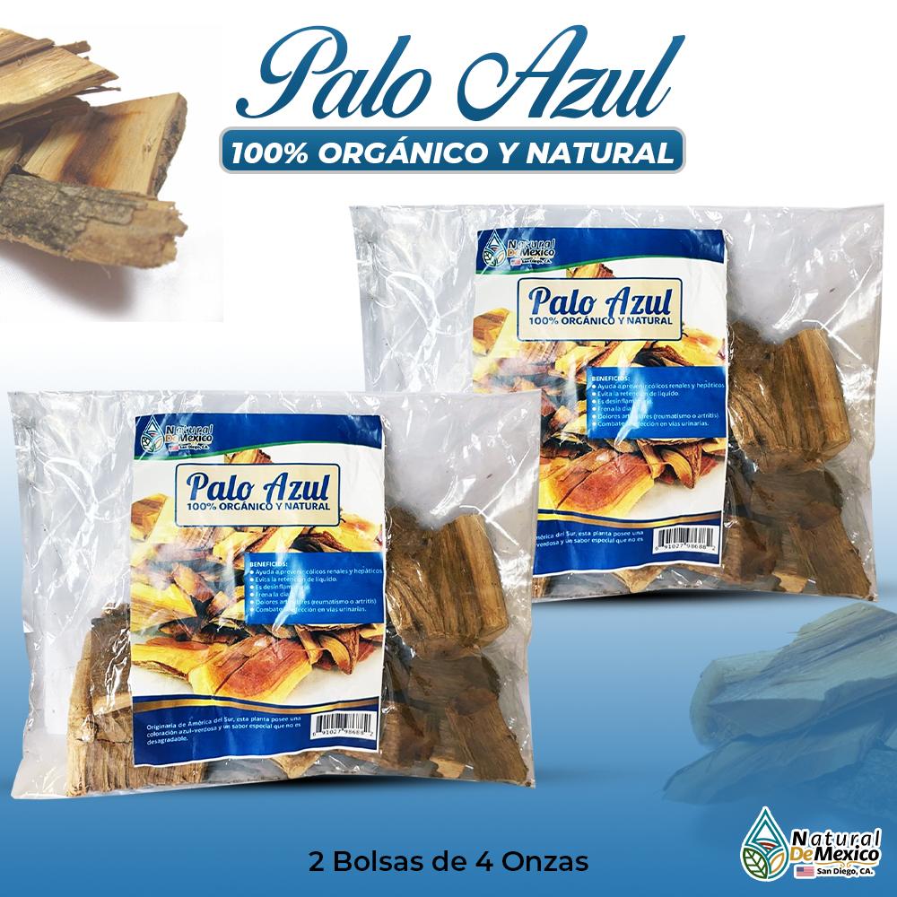 Palo Azul – 2 Paquetes De 4 Onzas