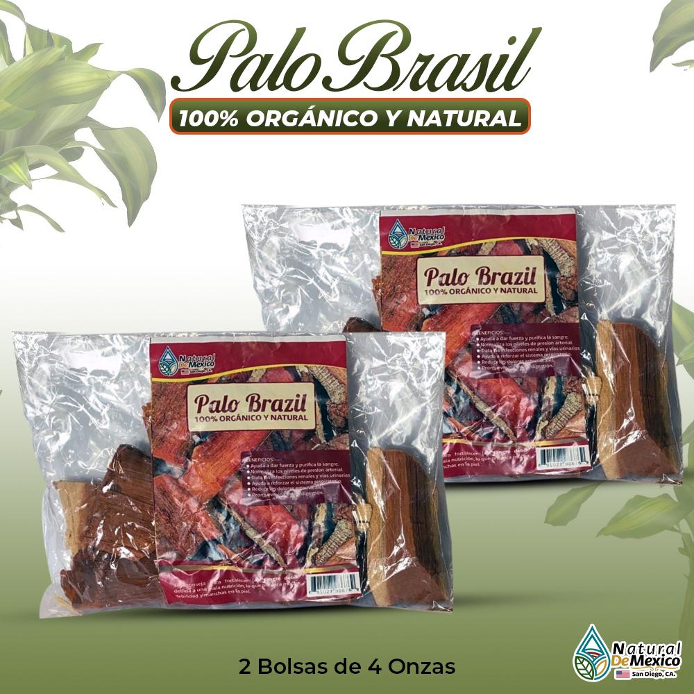 Palo Brazil – 2 Paquetes De 4 Onzas