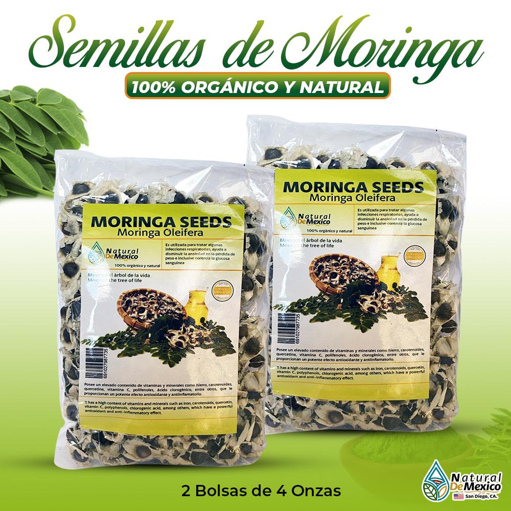Semillas De Moringa – 2 Paquetes De 4 Onzas